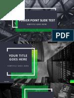 Power Point Slide Test