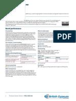PDS Gyproc DuraLine MR