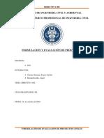 formulación- informe