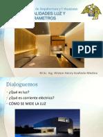 20191-03 Parametros Luz