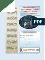 Unit 1 Mathematics Education in Latin America and the Caribbean