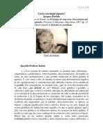 Derrida Carta a Un Amigo Japonés-proyecto a Ediciones Barcelona-1997-Pp.23-27