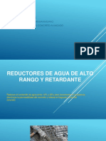 REDUCTORES de AGUA de Alto Rango y Retardante PPT