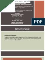 Exposición de Tesina Síndrome de Burnout e Inteligencia Emocional en Estudiantes de La Escuela de Policía Trujillo 2019 (1)