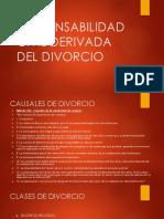 Responsabilidad Civil Derivada Del Divorcio
