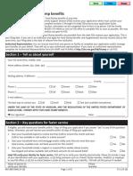 FS 1 Application for Food Stamp Benefits(1)