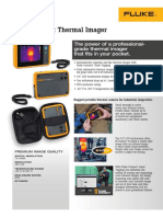 Fluke Pti120 Pocket Thermal Imager Datasheet