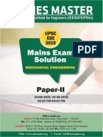 Mechanical Enginnering Paper II