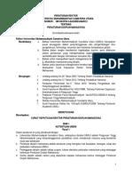 Peraturan Rektor UMSU Tahun 2012