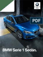 Ficha Técnica BMW 118iA Sedán Sport Line 2019