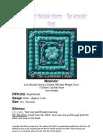 Wildflower Mandala Square crochet