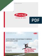 Sistemas FV Hibridos FRONIUS