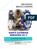 TR Ships Catering Services NC II