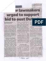 Philippine Daily Inquirer, July 8, 2019, Junior lawmakers urged to support bid to oust Duterte.pdf