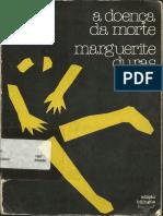A Doenca Da Morte - Marguerite Duras