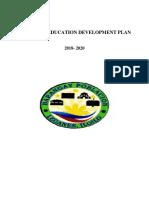 Barangay Education Development Plan