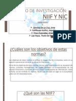Niif y Nic Derecho
