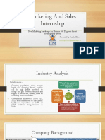 Marketing and Sales Internship_AnishaEkka_IIMTrichy