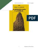 La Arqueologia y La Biblia - John C H Laughlin