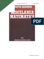 Miscelanea Matematica - Martin Gardner