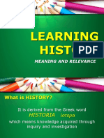 Meaning of History v3