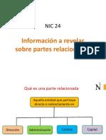 2.-PPT NIC 24-Informacion a revelar sobre partes Relacionadas.ppt