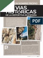 Vías históricas en España (Escalar)