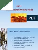 Unit 2 Financing International Trade - ESP Int'l Banking and Finance