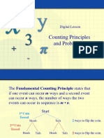 Counting Principles and Problems