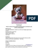 Hug Gleb Eary bear crochet