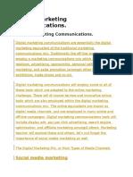 Digital Marketing Communications.doc