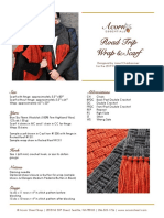 AE Roadtrip Wrap Scarf LYS2019
