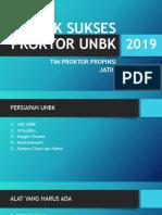 Trik Sukses Proktor Unbk 2019