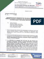 Division Memorandum No. 13 s 2019