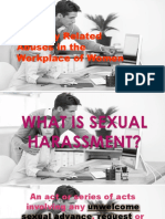 Cswd - Sexual Harassment and Online Violence