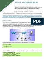 Comment Configurer Un Serveur Dhcp Sur Un Routeur Cisco