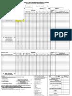 GRADE 11 E- CLASS RECORD FOR 1ST SEMESTER