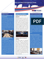 TRAM Newsletter Second Edition