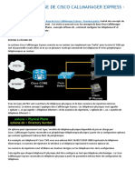 Concepts de Base de Cisco Callmanager Express 1