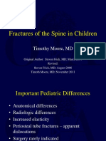 P13 - Fractures of the Spine in Children