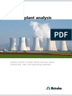 Thermal Plant Analysis