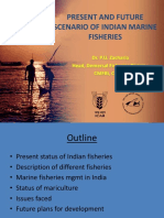 Present and Future Scenario of Indfian Marine Fisheries