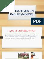Sustantivos en Ingles (Nouns) Diapositivas