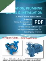 H. WATER PUMP-SUMP.pptx