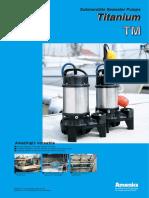 Titanium Pump Type TM