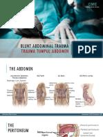 Trauma Tumpul Abdomen dr. Khalil