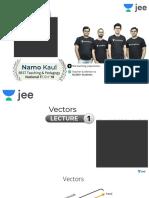 [P1] - Vectors