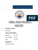 LED Lamp FYP Report.docx