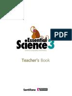 Essential Science 3 Teacher's book - Santillana.pdf