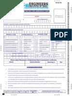 Registration Cum Admission Form Eii